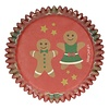 Funcakes Baking Cups -Gingerbread- pk/48
