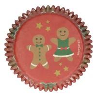 Baking Cups -Gingerbread- pk/48