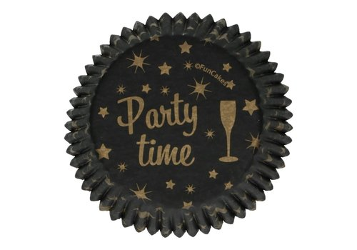 FunCakes Baking Cups -Party Time- pk/48