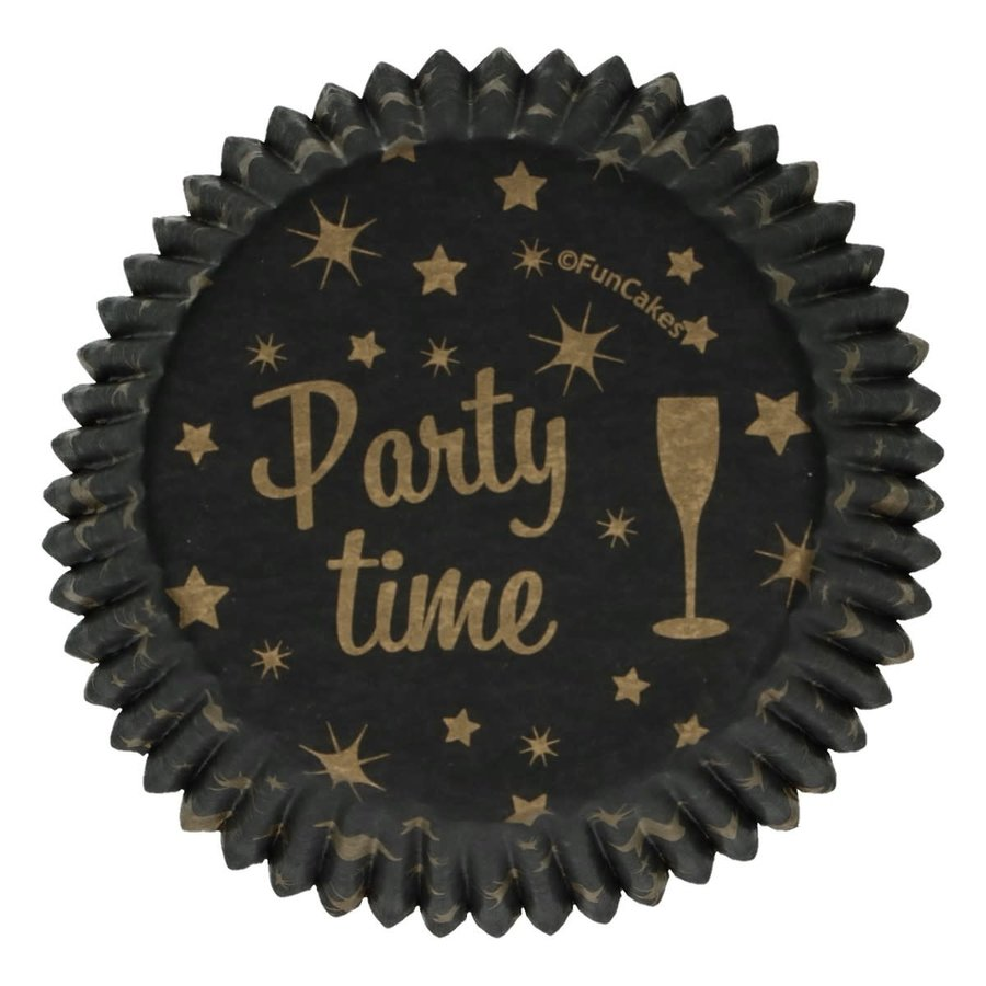 FunCakes Baking Cups -Party Time- pk/48-1