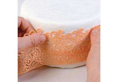 Silikomart Wonder Cakes Silicone Lace Mat baroc