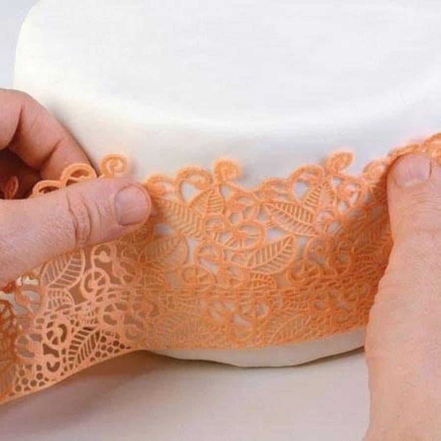 Silikomart Wonder Cakes Silicone Lace Mat baroc-1