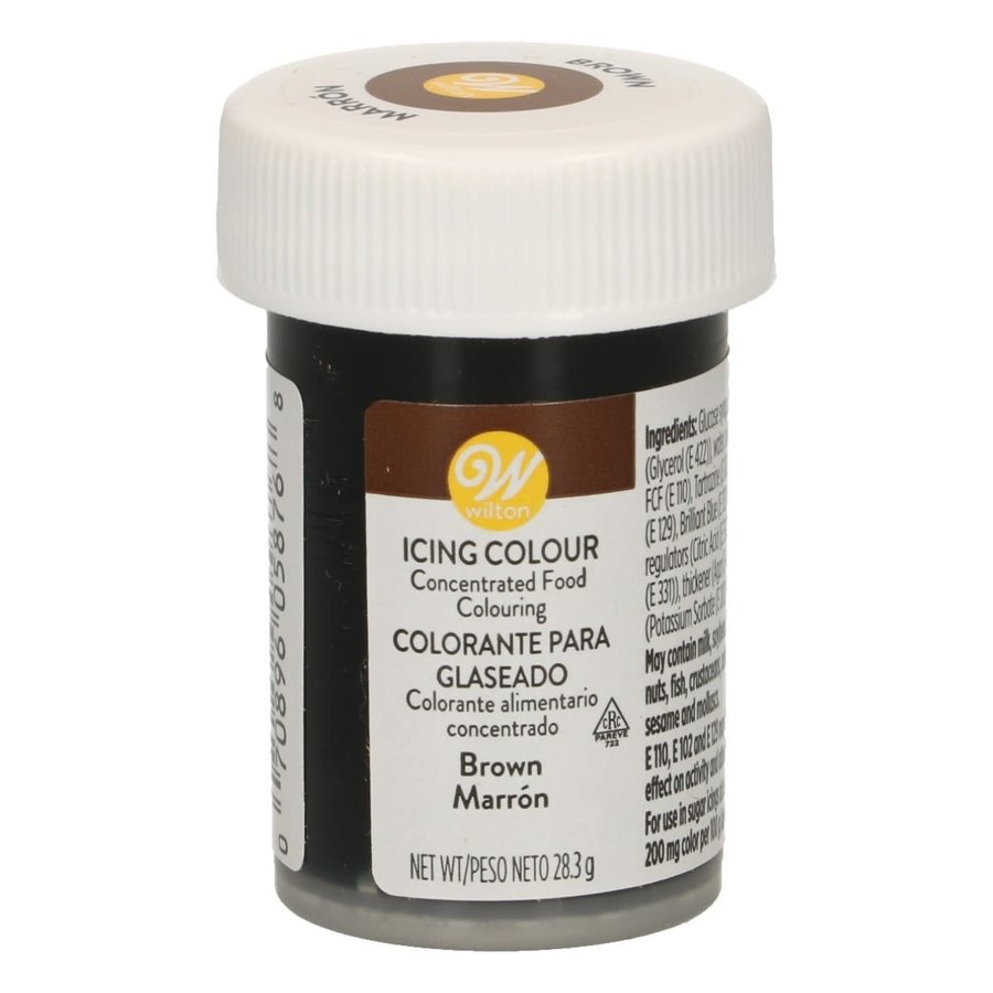 Wilton Icing Color - Brown - 28g-1