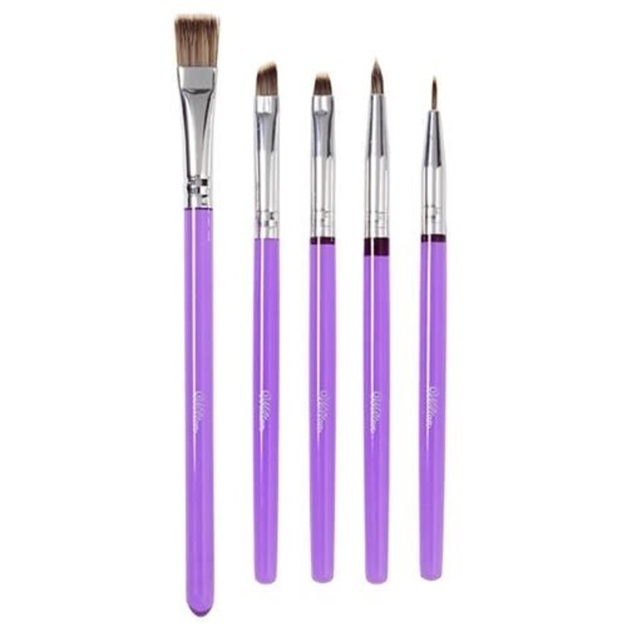 Wilton Decorating Brush Set/5-1