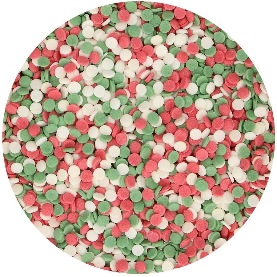 FunCakes Mini Confetti Kerst 60g-2