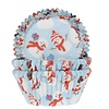 House of Marie House of Marie Baking Cups Sneeuwpop pk/50