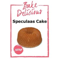 Bake delicious speculaas cake