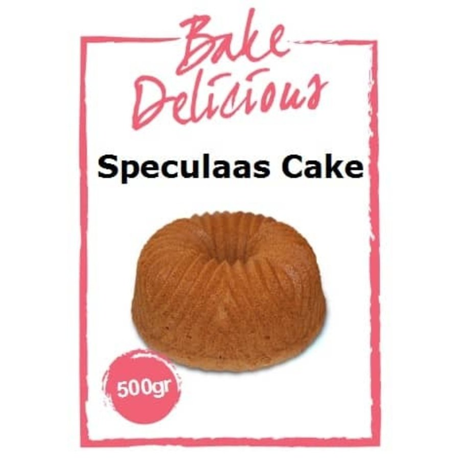 Bake delicious speculaas cake-1