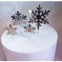 sneeuwvlok toppers