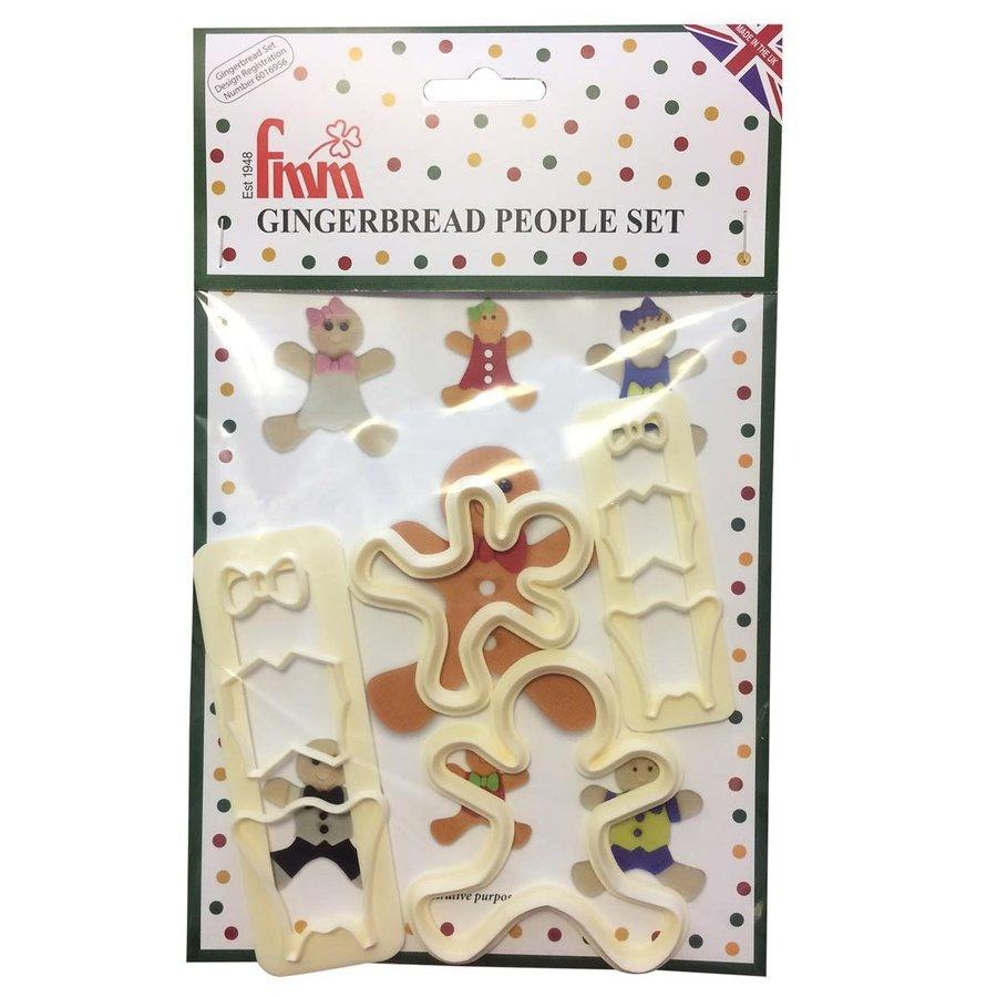 FMM Gingerbread People Cutter Set-1