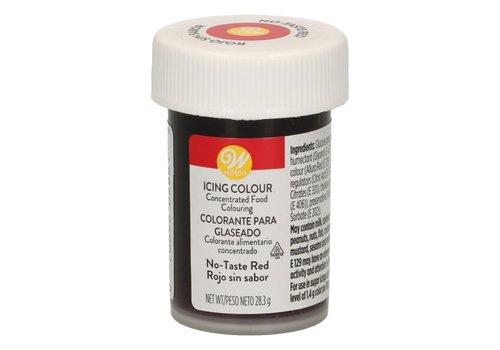 Wilton Eetbare Kleurstof Rood zonder smaak - Icing Color 28g