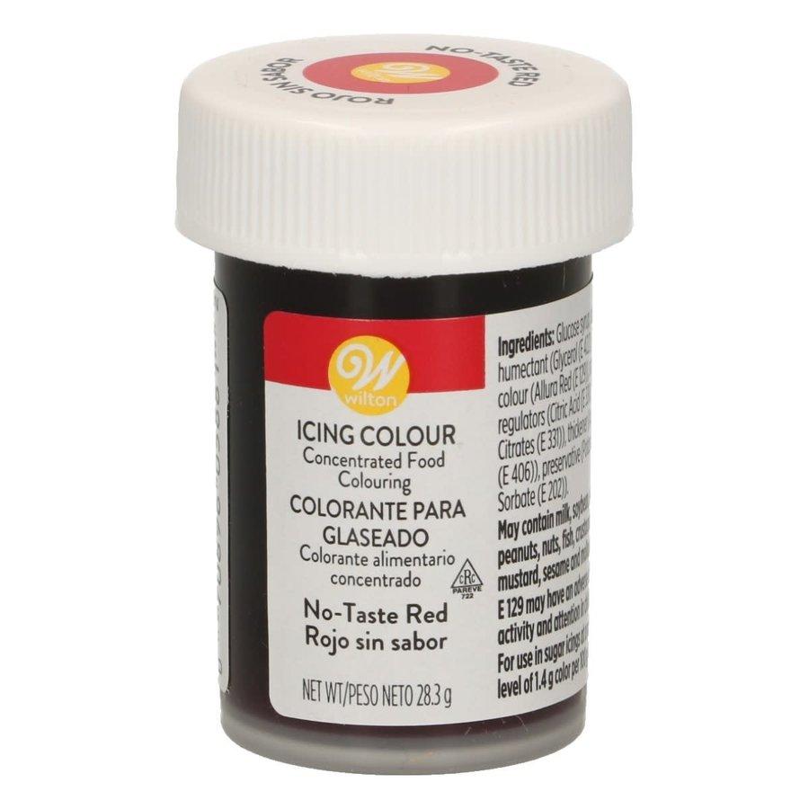 Wilton Eetbare Kleurstof Rood zonder smaak - Icing Color 28g-1