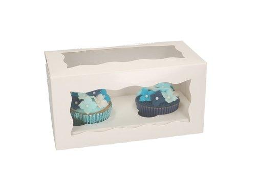 funcakes cupcake doos 2stuks