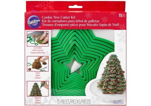 Wilton Kerst Koekjesboom Uitsteker Set/15
