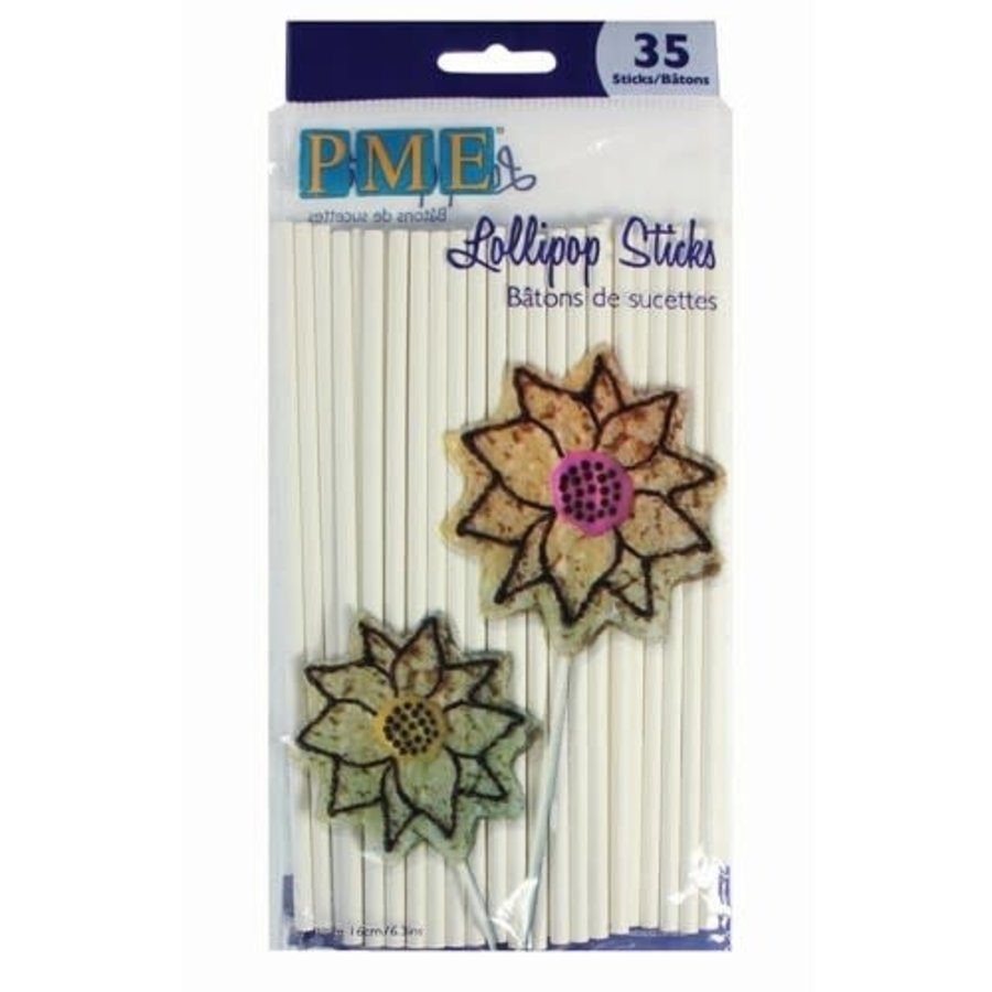 PME Lollipop cakepop stokjes -16cm- pk/35-1