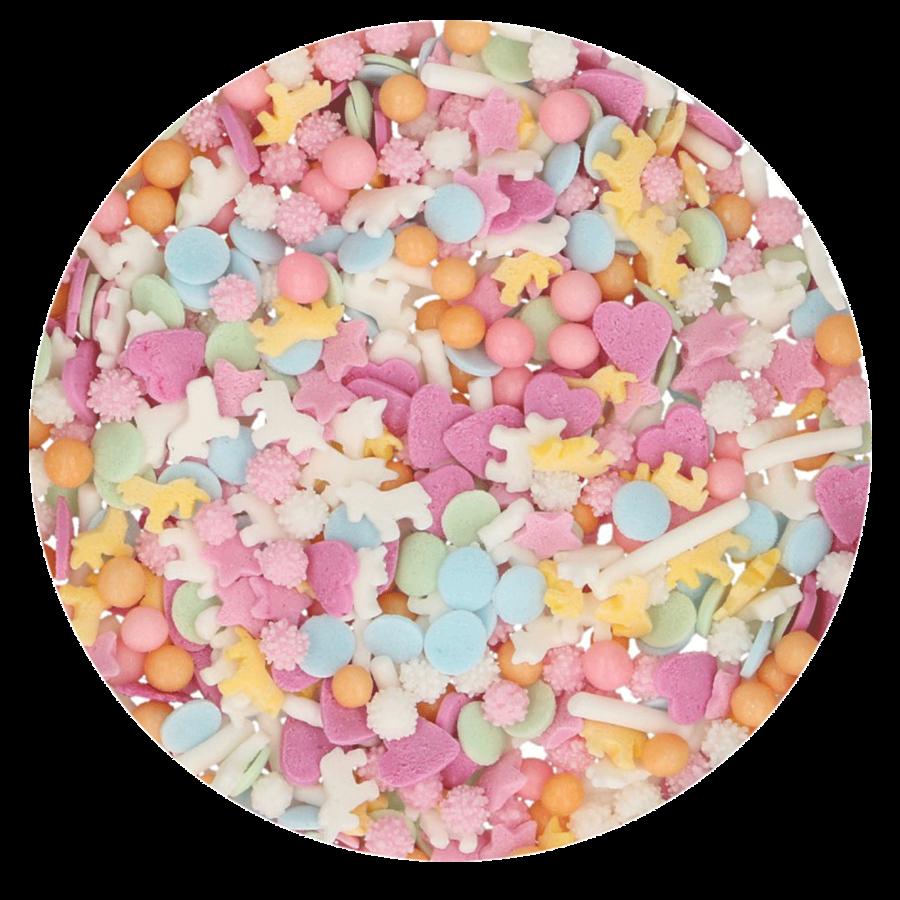 FunCakes Sprinkle Medley - Pastel Unicorn 50g-2