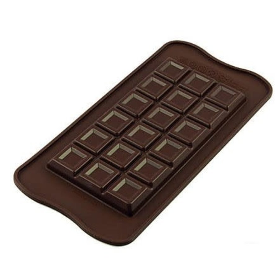 Silikomart Chocolate Mould Tablette Choco Bar-2