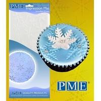 PME Impressie Mat sneeuwvlokken