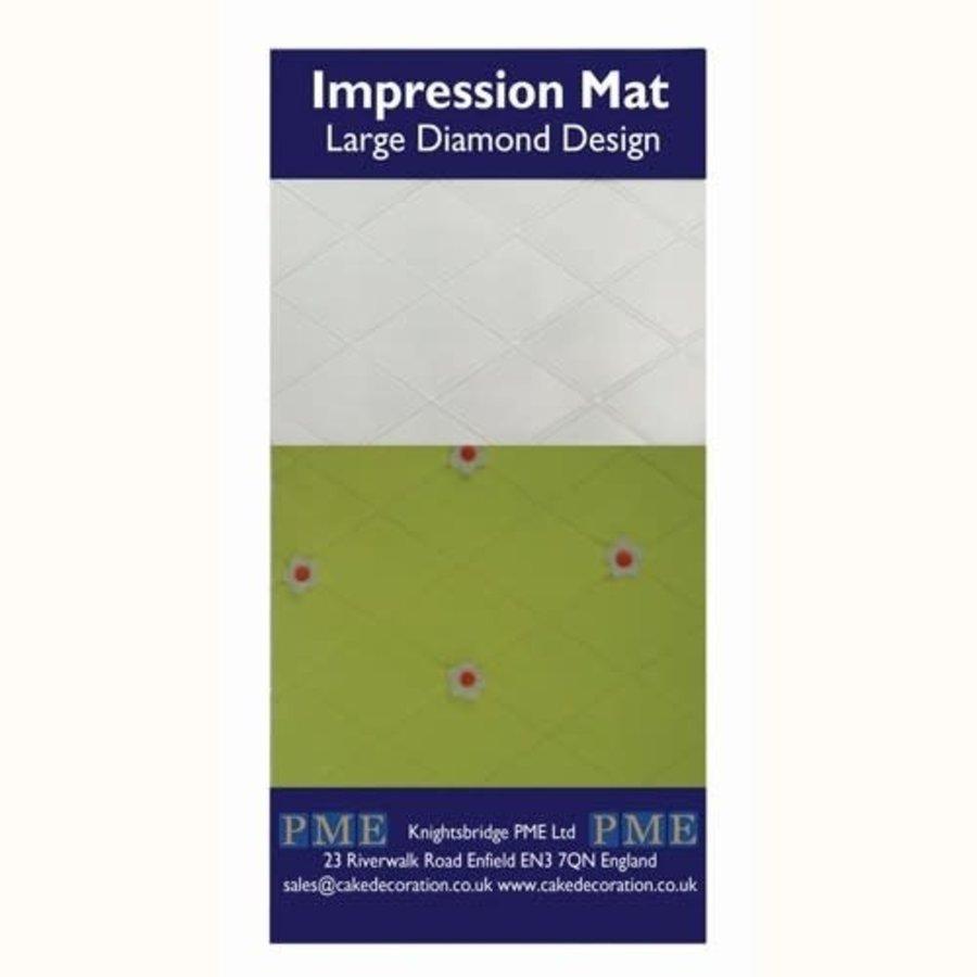 PME Impressie Mat diamant groot-1