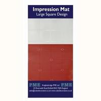 PME Impressie Mat vierkant groot