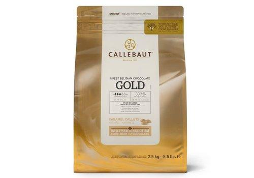 Callebaut Chocolade Callets -Gold- 2500 gram