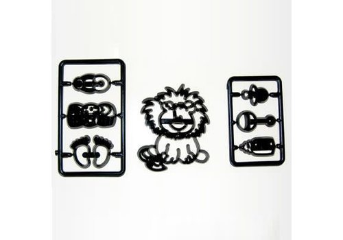 Patchwork Cutters ' Baby Lion & Nursery items '