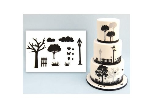 Patchwork Cutters ' Countryside Silhouette Set '