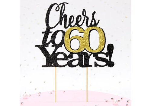 Cheers to 60 years! topper