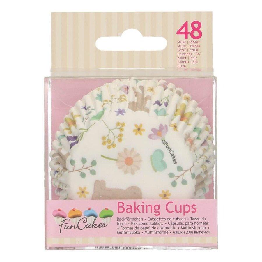 FunCakes Baking Cups -Spring Animals- pk/48-1