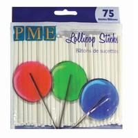 thumb-PME Lollipop Stokjes 9,5cm pk/75-1