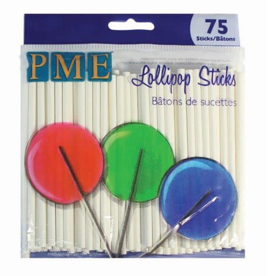 PME Lollipop Stokjes 9,5cm pk/75-1