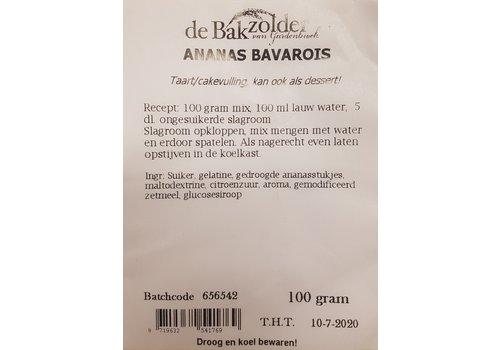 Ananas bavarois, de Bakzolder