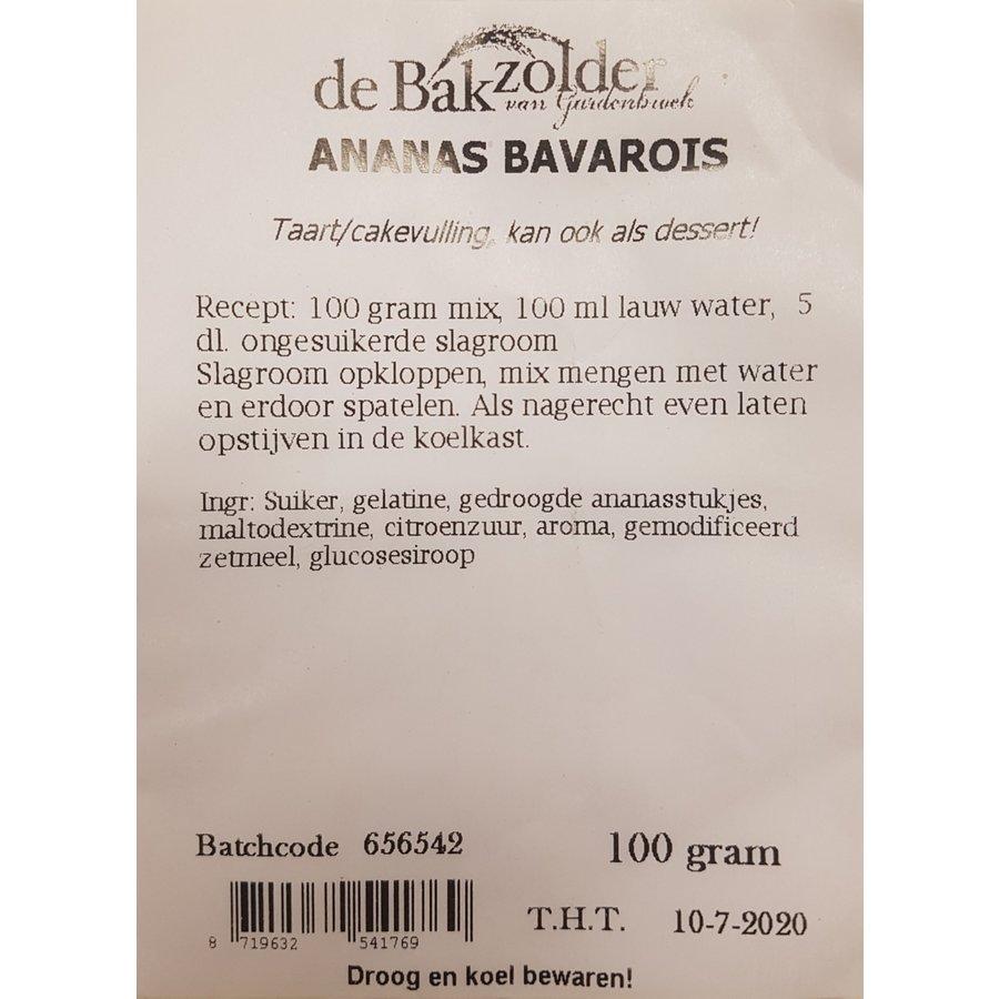 Ananas bavarois, de Bakzolder-1
