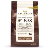 thumb-Callebaut Chocolade Callets -Melk- 2,5 kg-1