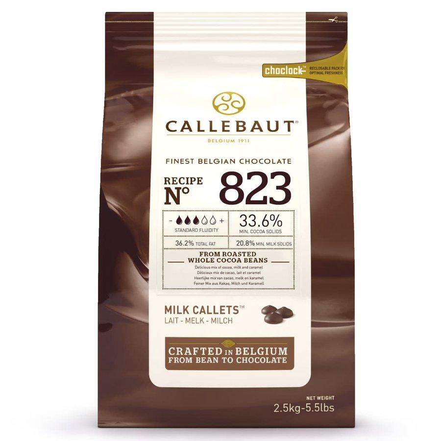 Callebaut Chocolade Callets -Melk- 2,5 kg-2