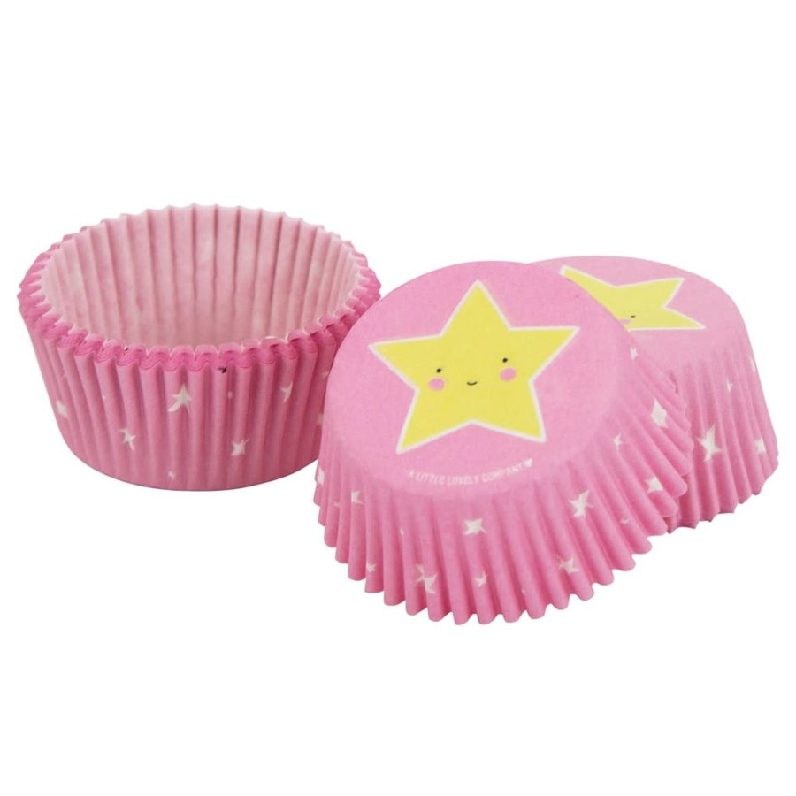 ALLC Cupcakevormpjes sterren pk/50-2