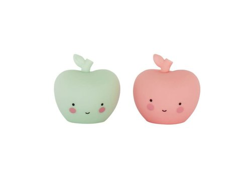 ALLC Mini Cake Topper Appels Set/2