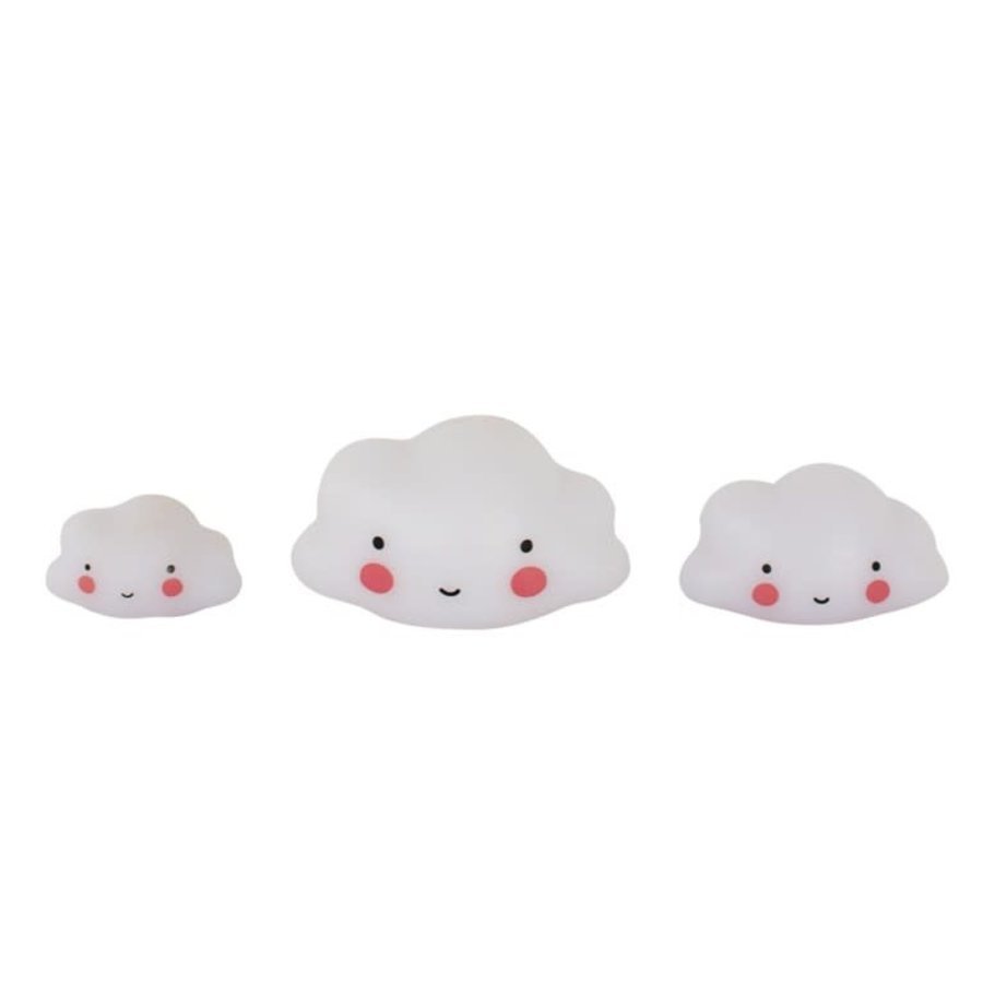 ALLC Mini Cake Topper wolken Set/3-1