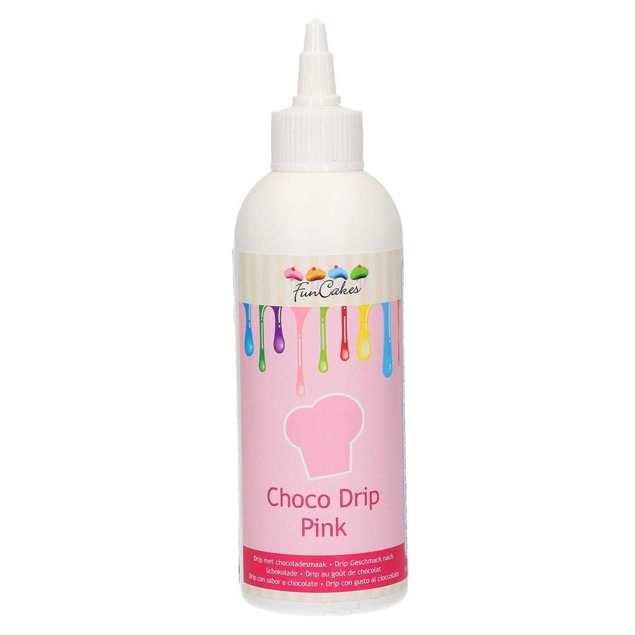 FunCakes Choco Drip roze 180g-1