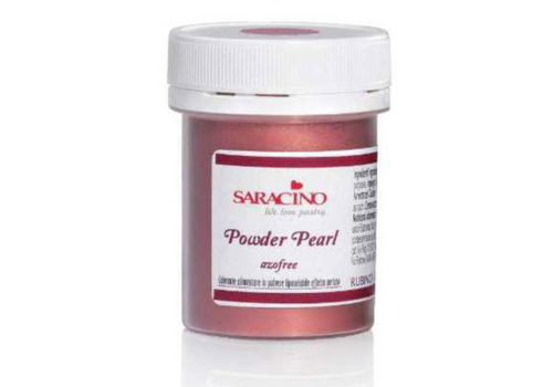 Saracino powder color pearl ruby rose