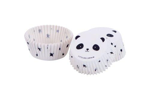 ALLC Cupcakevormpjes panda pk/50