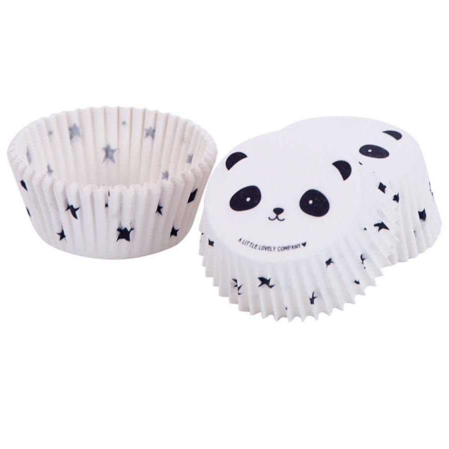 ALLC Cupcakevormpjes panda pk/50-1