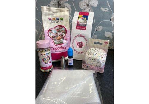 cupcake pakket confetti