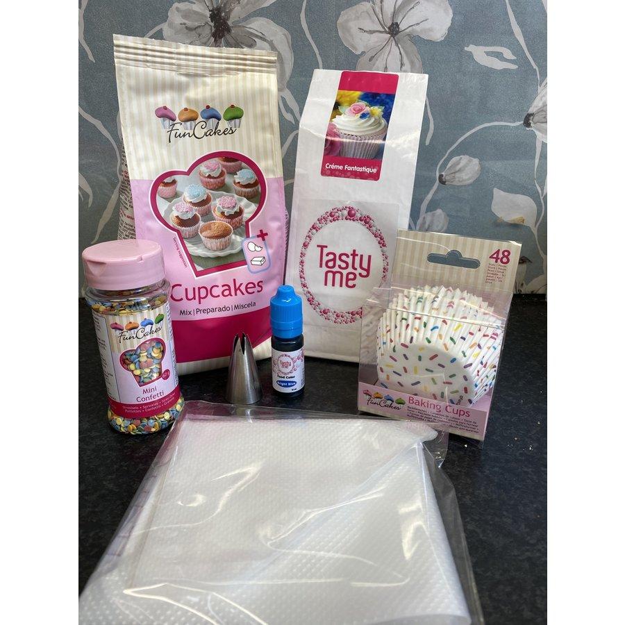 cupcake pakket confetti-1