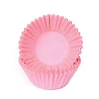 House of Marie Chocolade Baking Cups Pastel roze