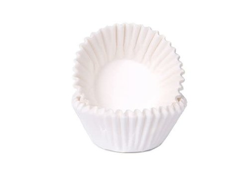 House of Marie Chocolade Baking Cups wit
