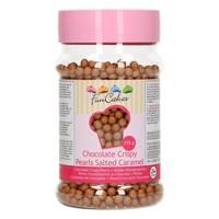 FunCakes Chocolade Crispy Pearls Salted Caramel 155g
