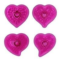 Fantasy Hearts Cupcake Tops Set/4 JEM