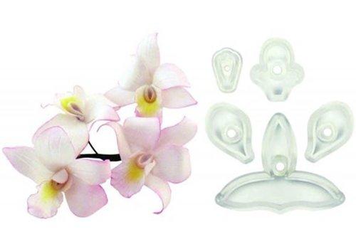 JEM Singapore Orchidee Uitsteker Set/5- Groot