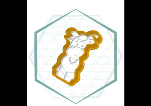 Koe, Jillbeesz 5x8,5 cm